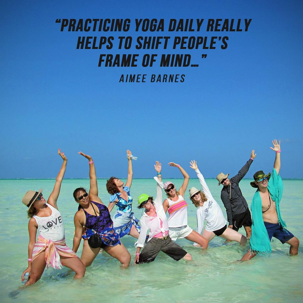 Yoga in Zanzibar