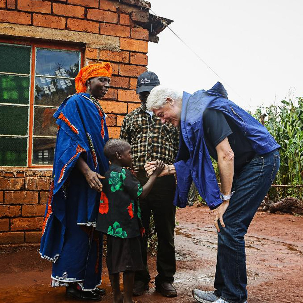 Bill Clinton in Tanzania