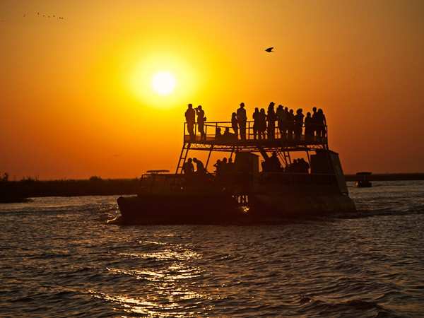 Chobe River New Year's Eve