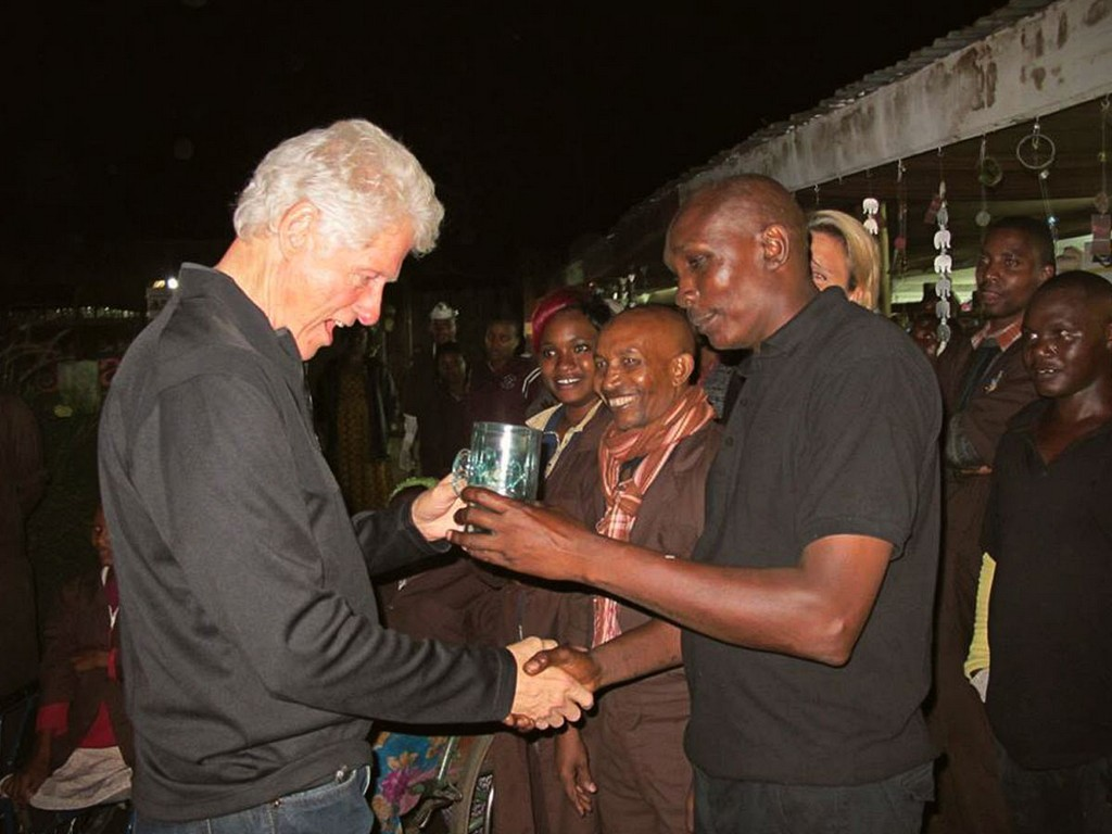 Bill Clinton Shanga Village