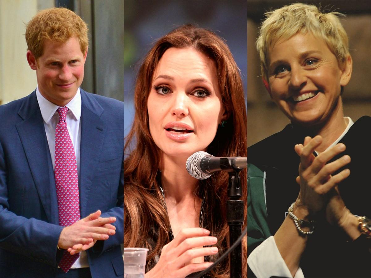 Celebrities in Africa