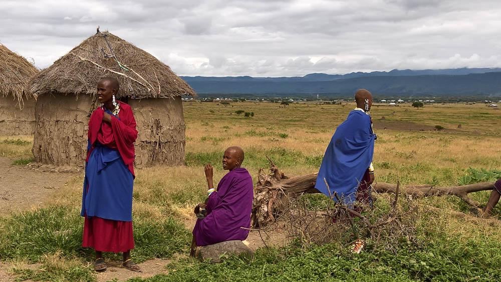 Rural Maasai Village