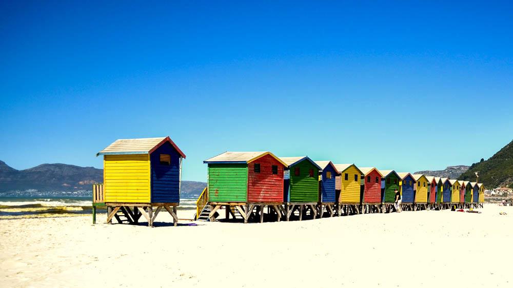 Muizenberg Beach Huts Cape Town