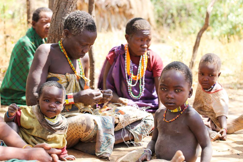Tanzania Culture Hadzabe Tribe