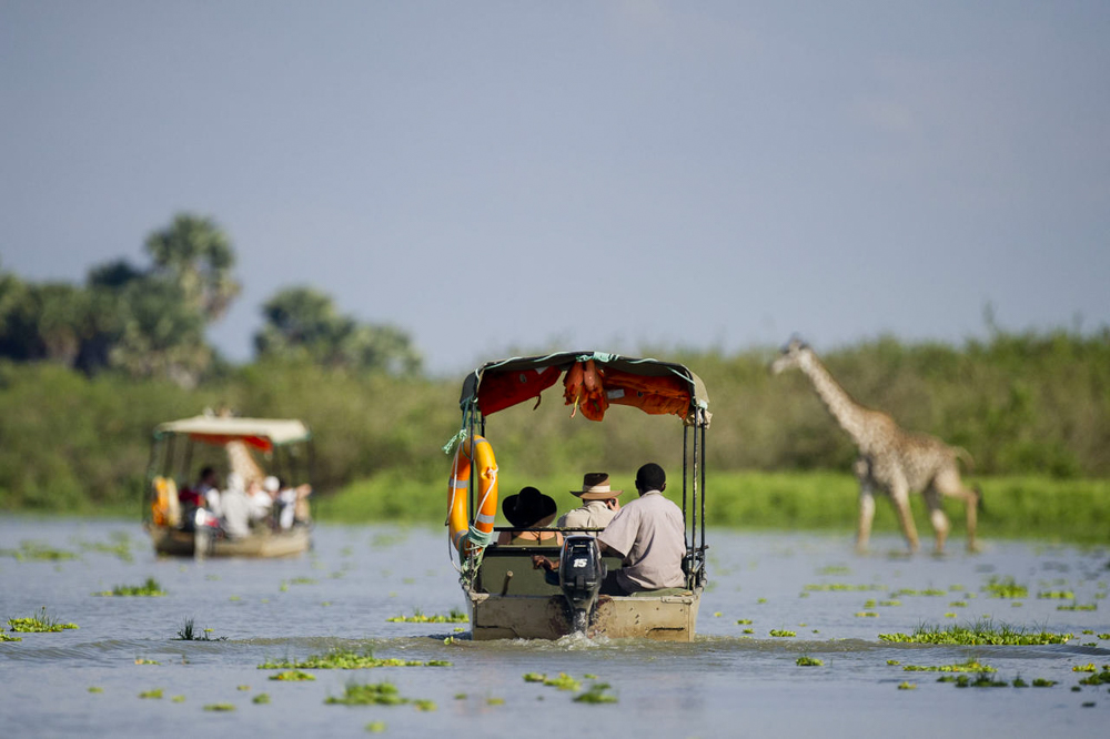 Selous Boating Safari