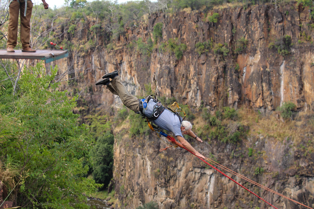 Victoria Falls High Wire Activities